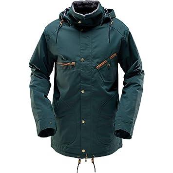 Cappel Snowboard Hombre Chaqueta Revolution Forest Green ...