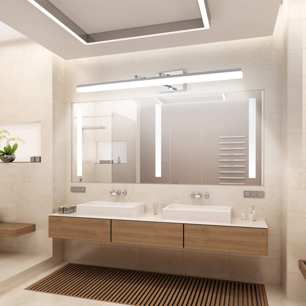 Aipsun 40 Inch Led Vanity Lights Adjustable Bathroom Vanity Light Fixtures Bathroom Wall Lights Modern Vanity Lighting 5500k Buy Online In Cambodia At Cambodia Desertcart Com Productid 160544937