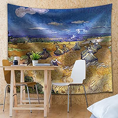 Made For You, Marvelous Artistry, Wheat Fields with Reaper Auvers by Vincent Van Gogh