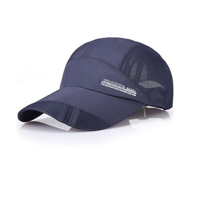 TTD Gorra de béisbol rápida de Malla Seca de Nuevo enfriamiento Sombreros de Sol Deportes Gorras para Ciclismo de Golf de Pesca Corriente: Amazon.es: Ropa y ...