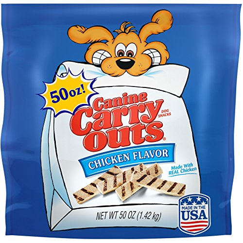 Canine Carry Outs Chicken Flavor Dog Snacks, 50 oz