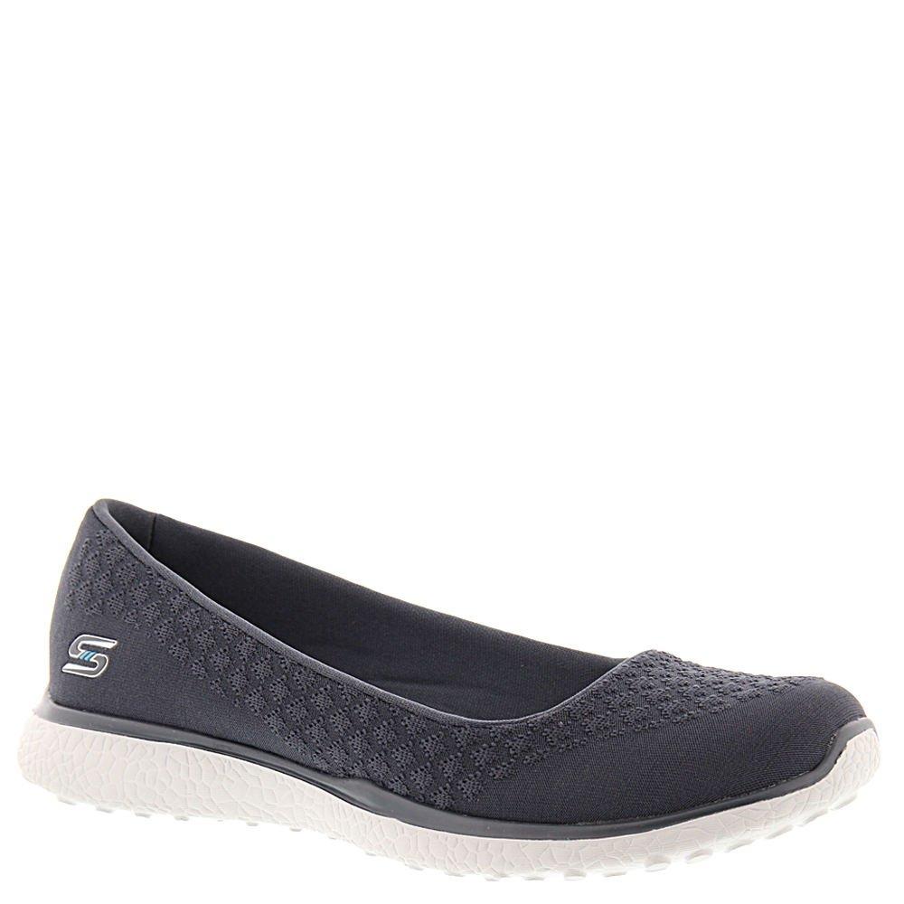 Skechers Damen Microburst-One up Sneaker  40 EU Holzkohle