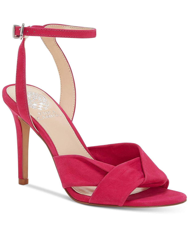 Hot Berry Pink Vince Camuto Womens Jenika Nubuck Stiletto Heels