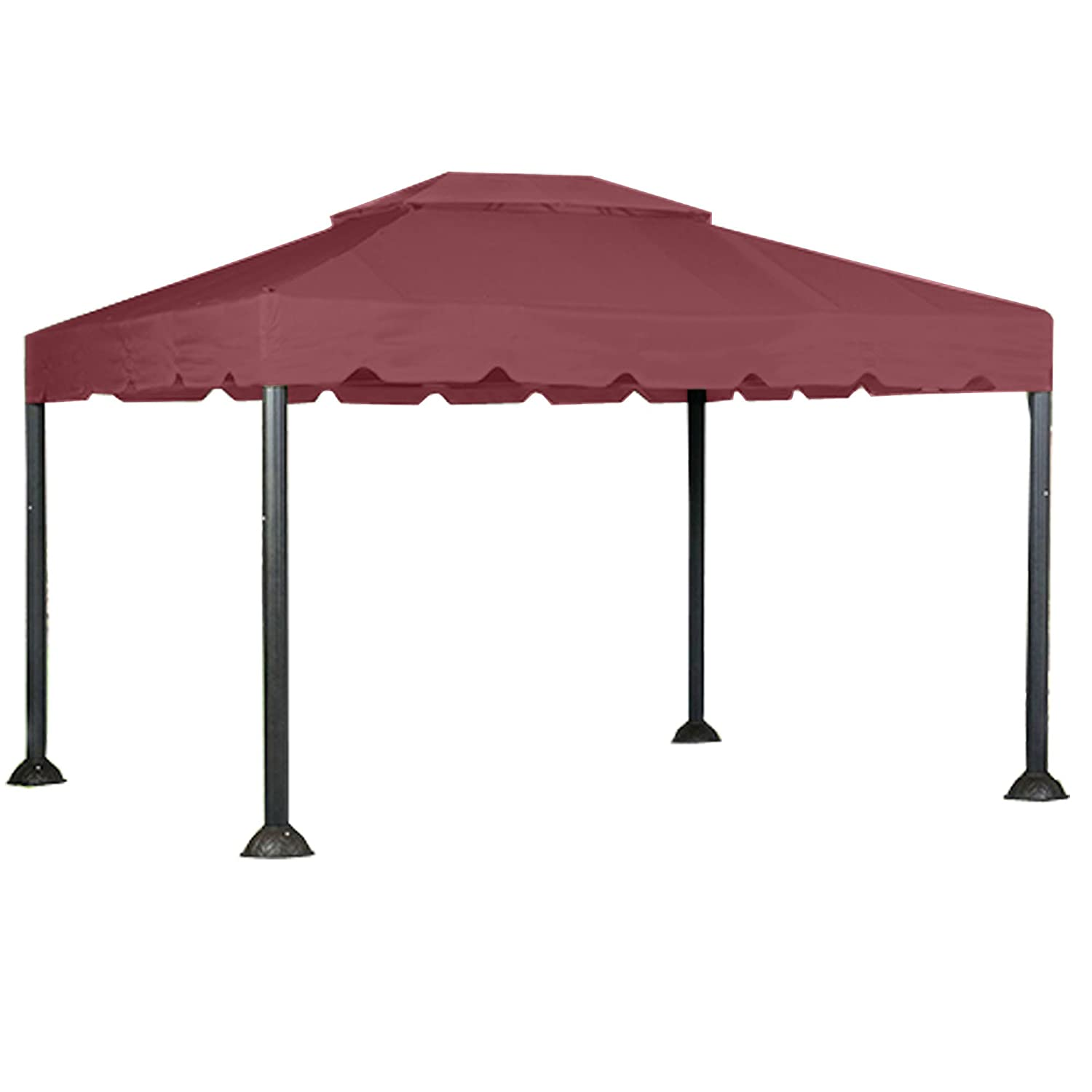 10 x 12 garden house gazebo replacement canopy riplock 350 garden winds lcm1166b rs