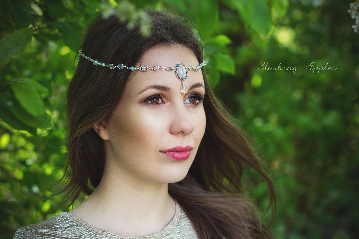 Haarband, Tiara, Circlet - Crystel