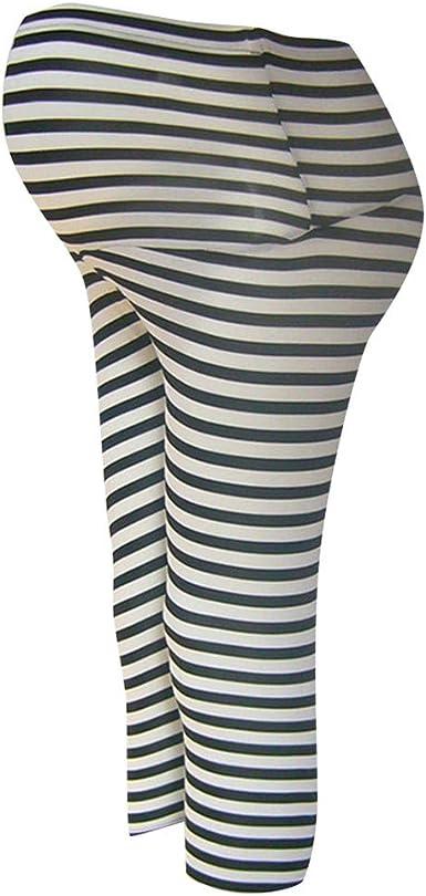 STRIR Embarazadas Mujeres Abdominales Pantalones de ...