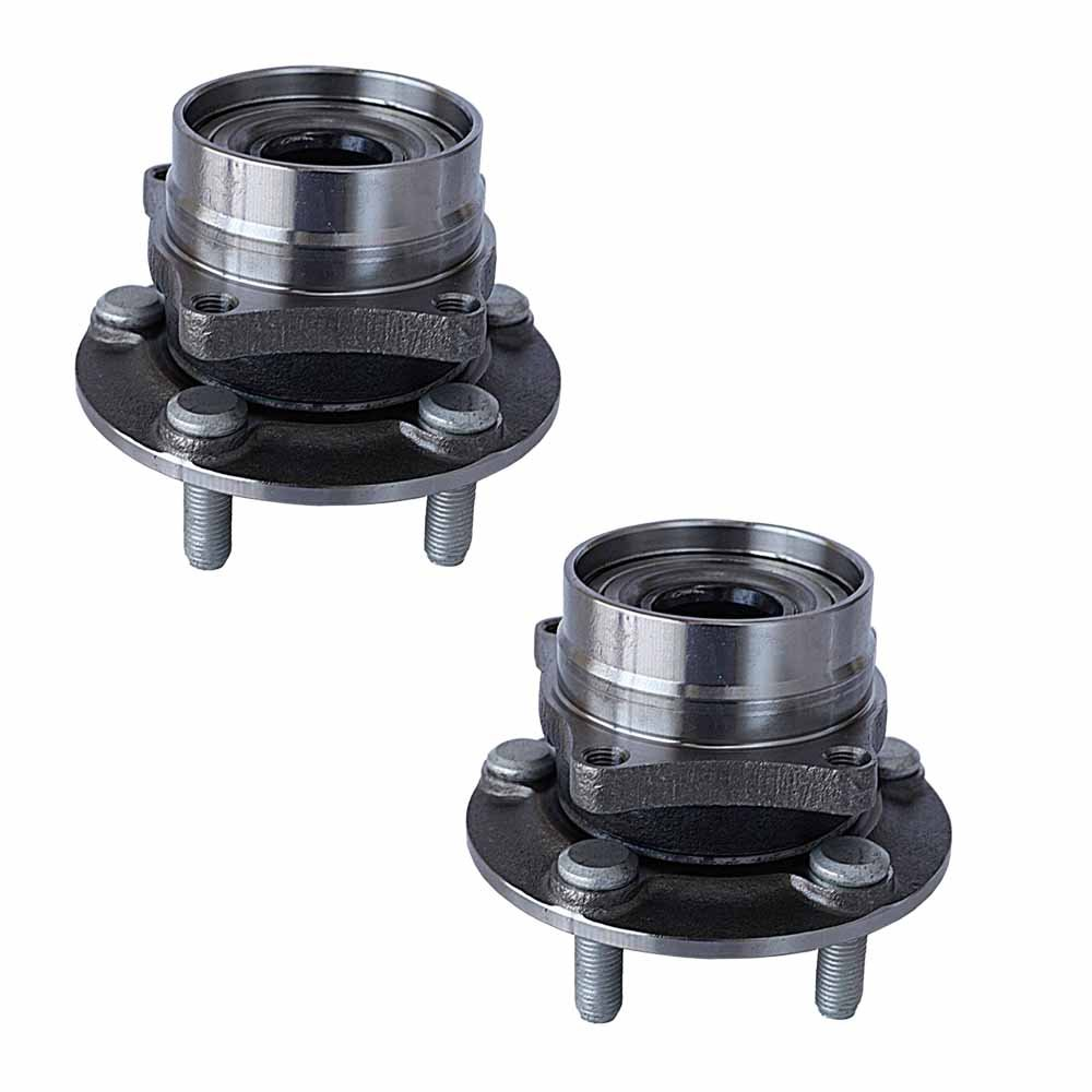 HU513265 x 2 (Set of 2) Brand New Wheel Bearing Hub Assembly Front Left And Right Side (5 Lug) Fit 04-09 TOYOTA PRIUS Longgo