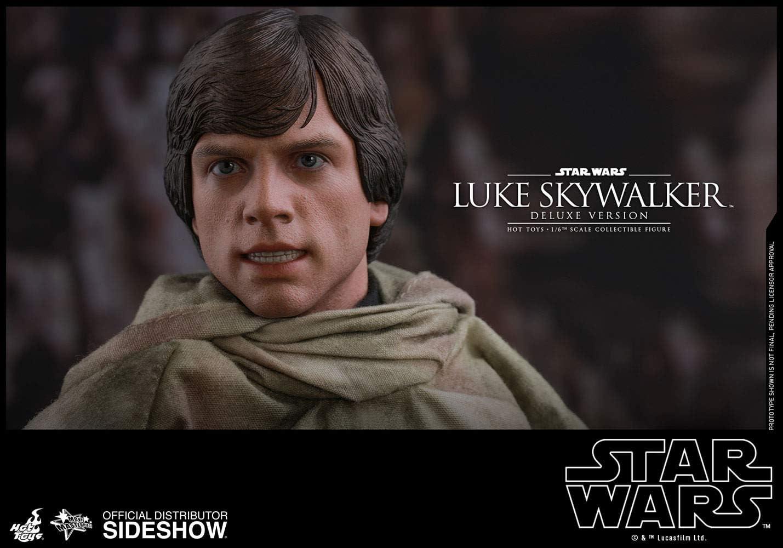 Deluxe Hot Toys MMS517 Star Wars Return Of The Jedi LUKE SKYWALKER 1//6 TUNIC