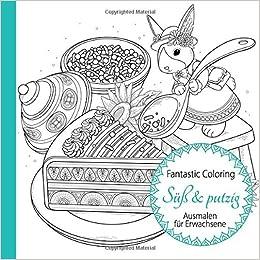 Süß Putzig Ausmalen Für Erwachsene Amazonde Fantastic Coloring