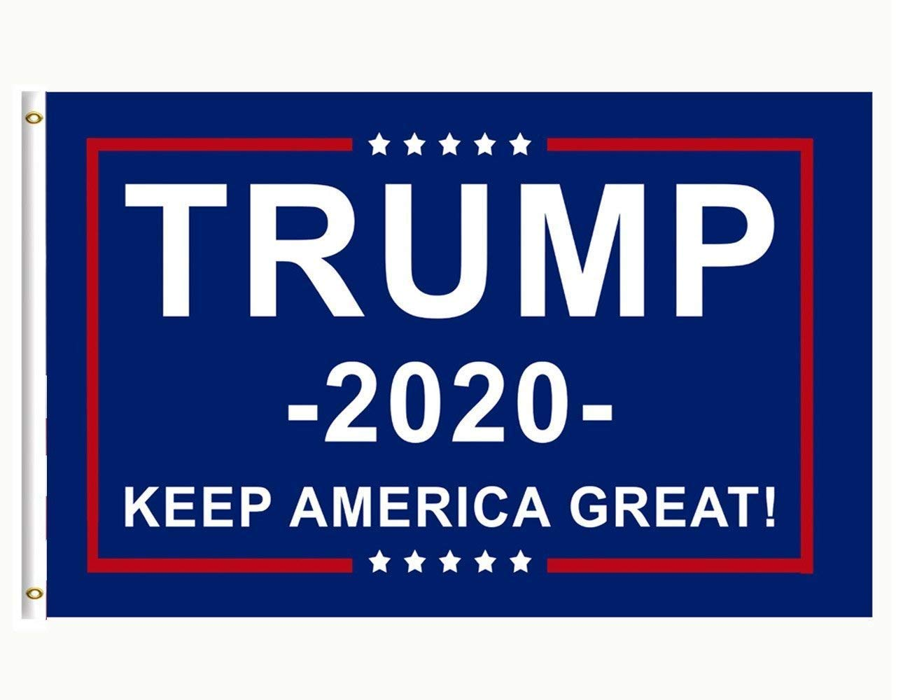 DFLIVE Double Sides Donald Trump for President 2020 Keep America Great Garden Flag Yard Decoration