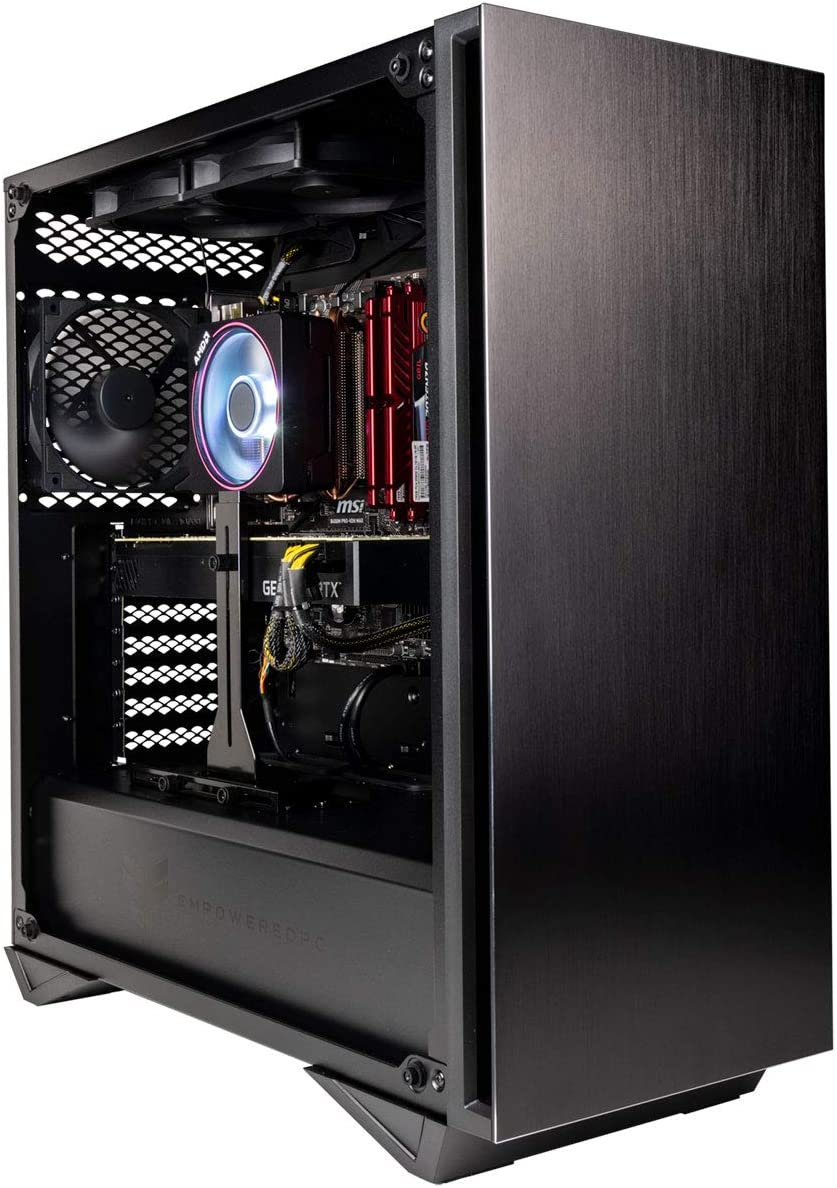 Empowered PC Sentinel Gamer PC (AMD Ryzen 9, 32GB DDR4 3200MHz RAM, 512GB NVMe SSD + 2TB HDD, NVIDIA GeForce RTX 2080 Super 8GB, 700W PSU, AC WiFi, Windows 10 Home) Tower Gaming Desktop Computer