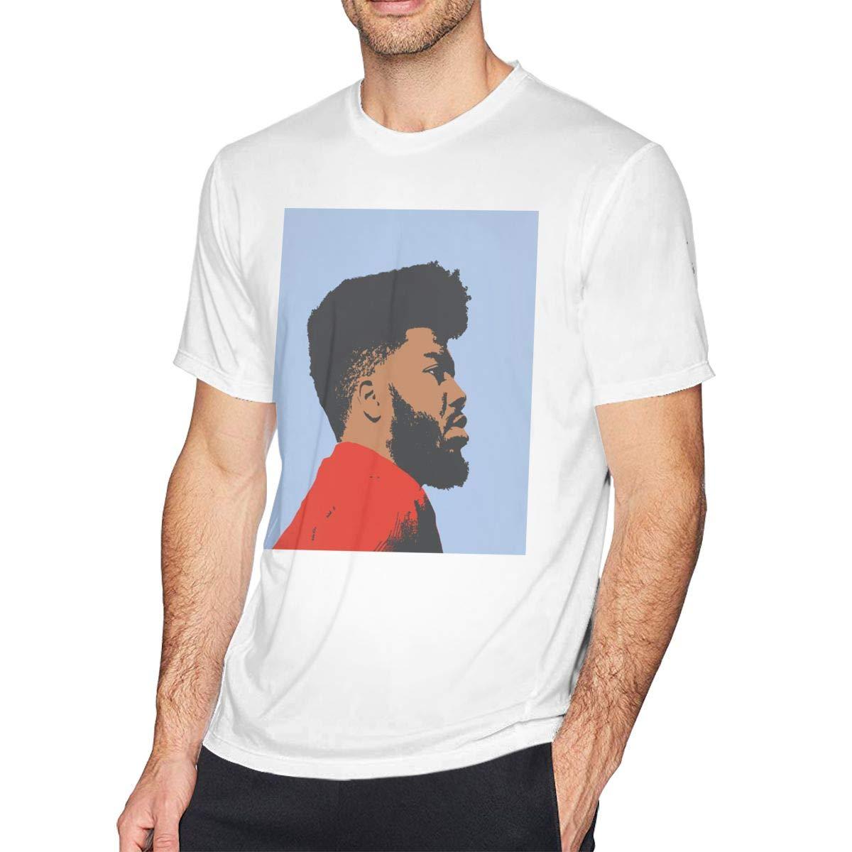 Mens Khalid-American Teen Tee T-Shirt Black