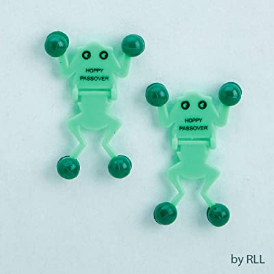 Rite Lite Amazing Passover Frog Wall Climbers: Toys & Games