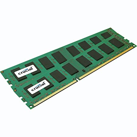 Crucial 4GB kit (2GBx2) CT2KIT25664BA1339 240-pin DIMM DDR3 PC3-10600 memory module Components at amazon