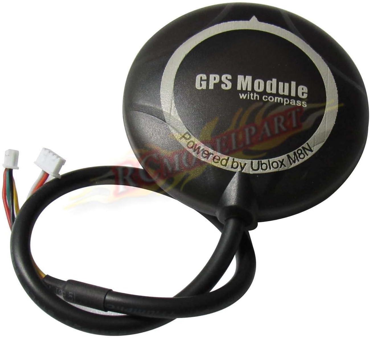 Uzinb M8N GPS Module Stand construit de Haute pr/écision GPS Construit en Remplacement Holder Compass pour APM Pix Pixhawk