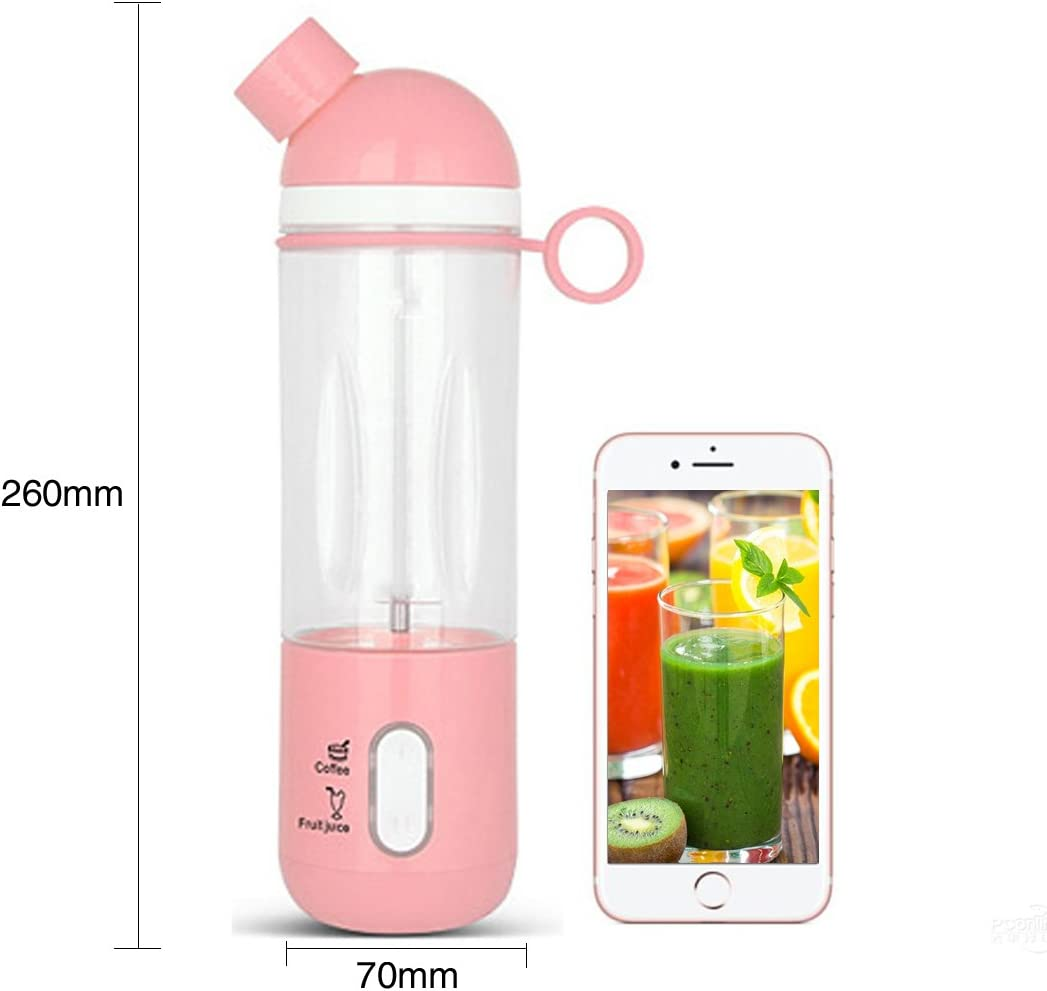A SZCXTOP Upgraded Portable Electric Fruit Juicer Cup