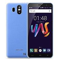 HOMTOM S16 Smartphone 2GB + 16GB 5.5 pulgadas (18:9) Cámara Triple (13MP+2MP+8MP) Android 7.0 MTK6580 Quad Core hasta 1.3GHz WCDMA & GSM (Azul)