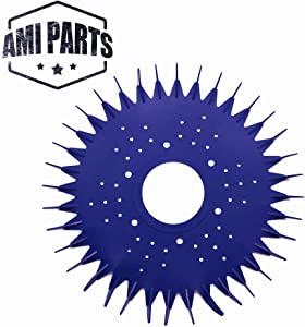 AMI PARTS Pool Cleaner Finned Seal disc Skirt Replacement Part Compatible with Zodiac Baracuda G2, G3, G4 Pool Cleaner Seal