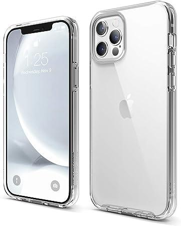 Elago Hybrid Clear Case Kompatibel Mit Iphone 12 Hülle Elektronik