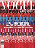Vogue Paris Collections Magazine (Fall Winter 2012)