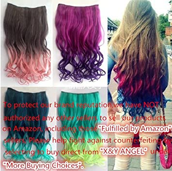 Two-Color Hair Extensions