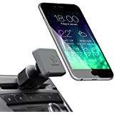 Koomus Pro CD-M Universal CD Slot Magnetic Cradle-less Smartphone Car Mount Holder for all iPhone and Android Devices