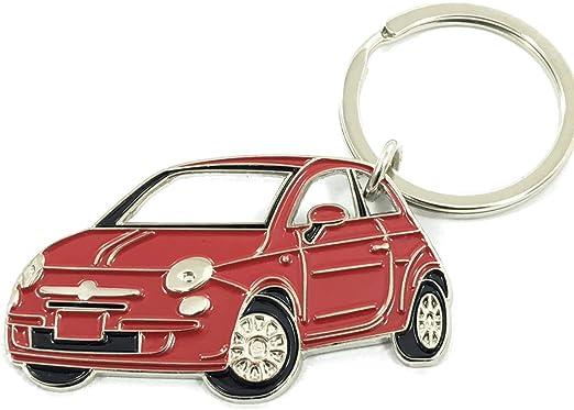 Fiat Premium Metal Keyring Car Key Chain Fob