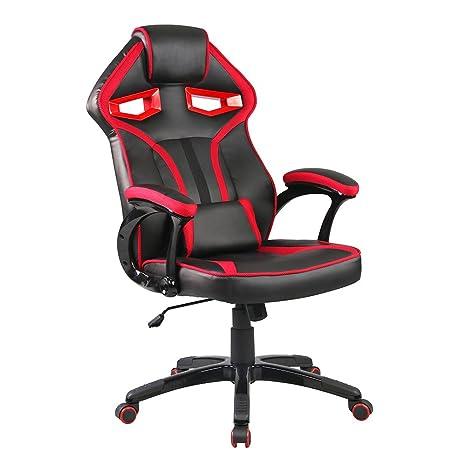 weibo juegos sillas Racing silla de oficina con respaldo y funda de ...