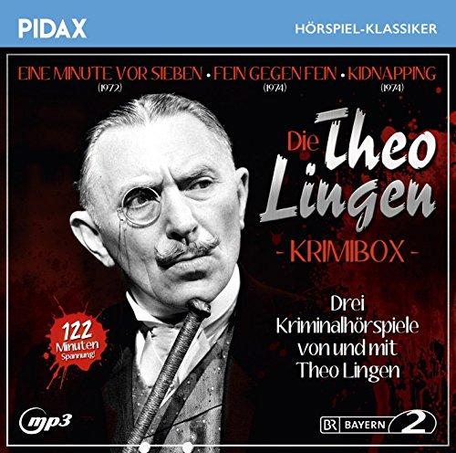 Die Theo Lingen Krimi-Box / Drei Kriminalhörspiele von und mit Theo Lingen: Eine Minute vor sieben + Fein gegen Fein + Kidnapping (Pidax Hörspiel-Klassiker)