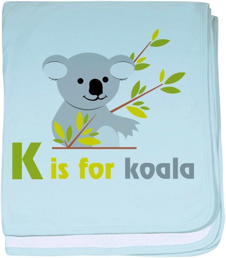 K Is For Koala baby blanket CafePress Super Soft Newborn Swaddle Baby Blanket