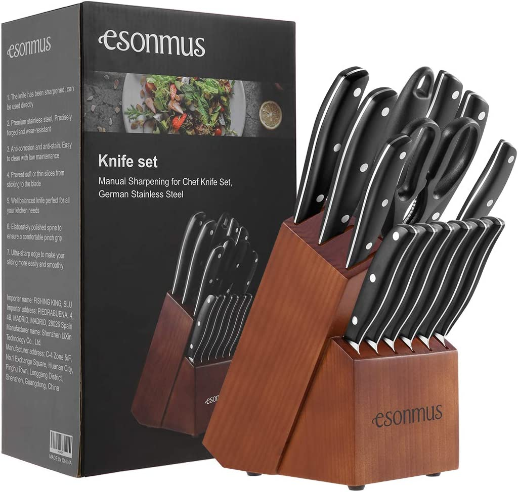 Set di coltelli completo - I 7 migliori utensili da cucina su Amazon - SaluteCosmetica