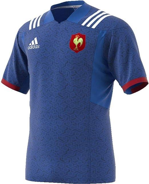 adidas Federación Francesa Camiseta de Equipación Hombre: Amazon.es: Ropa y accesorios