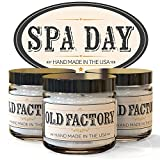 Scented Candles – Spa Day – Set of 3: Cucumber, Lemongrass, and Green Tea – 3 x 4-Ounce Soy Candles – Each Votive Candle is Handmade in the USA with only the Best Fragrance Oils