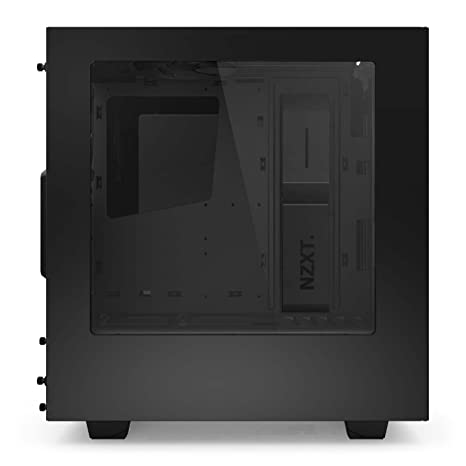 Amazon.com: NZXT S340 Mid Tower Computer Case, Glossy Black (CA-S340W-B1):  Computers & Accessories