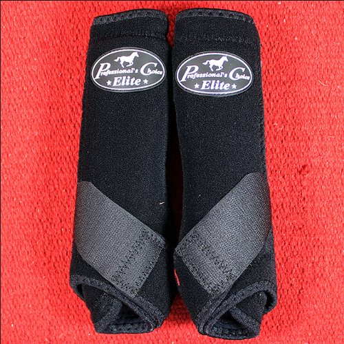 Professionals Choice Equine Sports Medicine Ventech Elite Rear Leg Boot, Pair