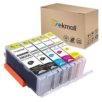 Amazon.com: Tekmall PGI-280XXL PGI 280 - Cartucho de tinta ...