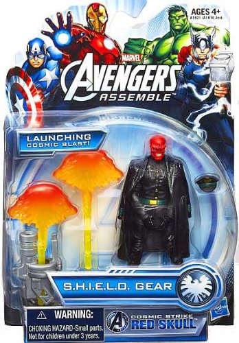 Marvel Avengers Assemble Cosmic Strike Red Skull Figure