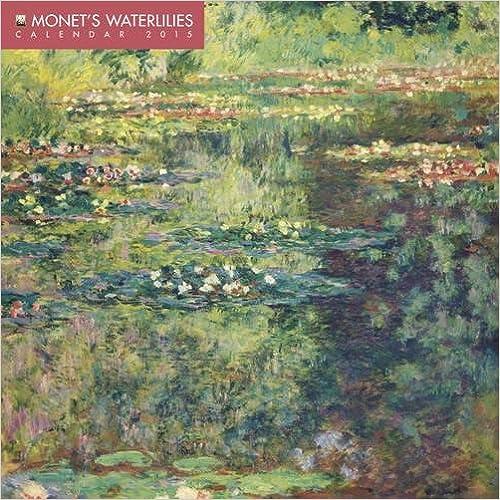 Monet's Waterlilies Mini Wall Calendar 2015 (Art Calendar)
