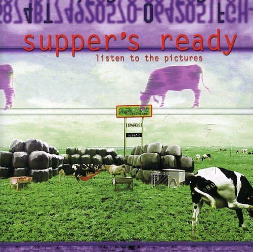 CD : Supper's Ready - Listen To The Pictures (CD)