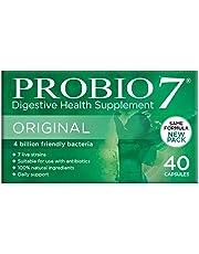Probio7 Original | 7 Live Strains | 4 Billion CFU + 2 Types of Prebiotic Fibre | Digestive Health Supplement (40 Capsules)