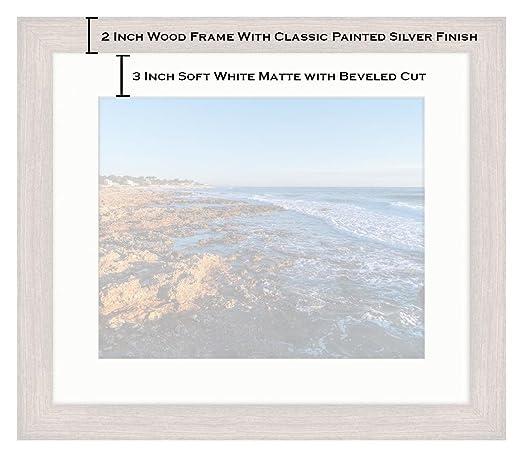 Amazon.com: Ashley Framed Prints Denia Alicante Las Rotas Rocky Beach in Spain, Wall Art Home Decoration, Color, 30x35 (Frame Size), Rustic Barn Wood Frame, ...