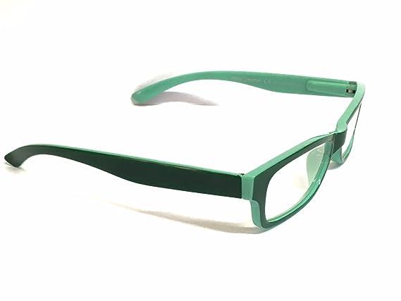Occhiali da lettura Lampedusa PENTAPHARMA dispositivo medico di classe I diversi colori e graduazioni aste flex (Diottria + 1.00, verde)