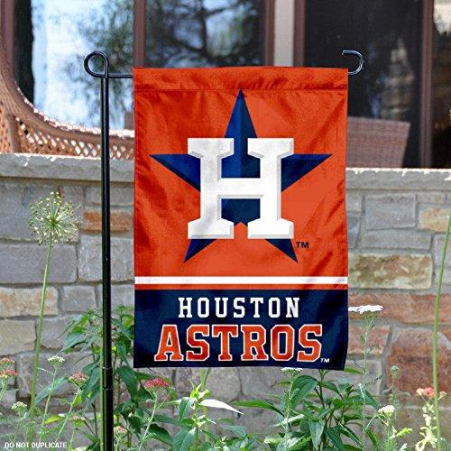 Houston Astros両面ガーデン旗 B01ITTOF5Y 10093