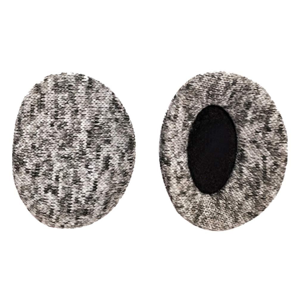 Caissip Knit Bandless Ear Warmers Earmuff for Winter, Outdoor Lightweight Earmuffs Ear Cover