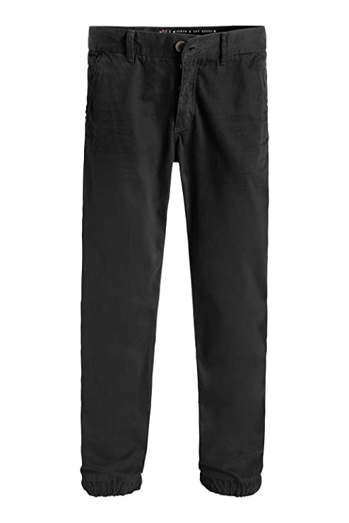 edc by Esprit Men s im Jogging-Stil Tapered Trousers, Black (Black 001),  W30 L30 (Manufacturer Size  30 30)  Amazon.co.uk  Clothing 92564048a6ac