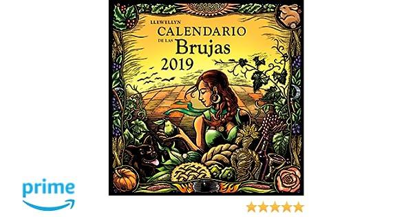 Calendario de las brujas 2019 (Spanish Edition): Llewellyn ...