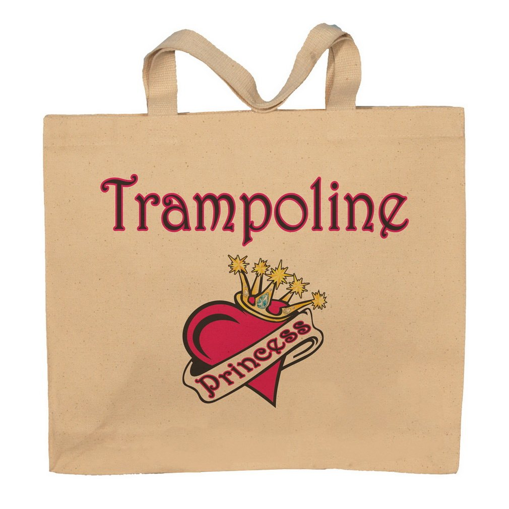 Trampoline Princess Totebag Bag
