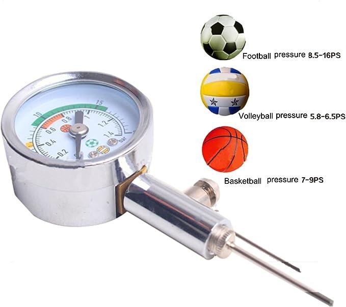 a-nam bola Medidor de presión para fútbol, RUGBY, Netball ...