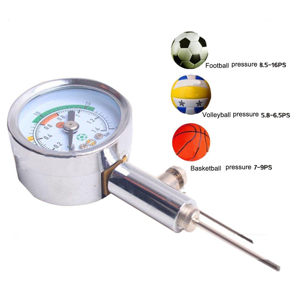 a-nam bola Medidor de presión para fútbol, RUGBY, Netball, voleibol, baloncesto por Junior fútbol Club