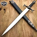 New DEMON SKULL BONES MEDIEVAL TRIBAL FANTASY DAGGER historical Short Sword Knight- Great For Fun And Practical Use